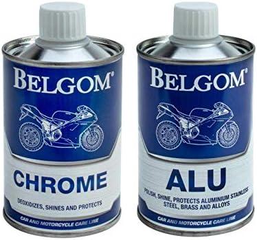Belgom Alu Chrome Polish Set Auto