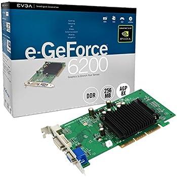 Amazon.com: EVGA GeForce 6200 512 MB DDR2 AGP 8X VGA/DVI-I/S ...