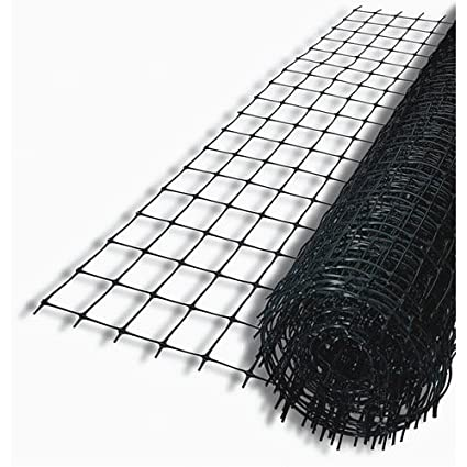 Amazon.com : Tenax 60100109 Pro Deer Fence, Black, 7.5-Feet by 100 ...