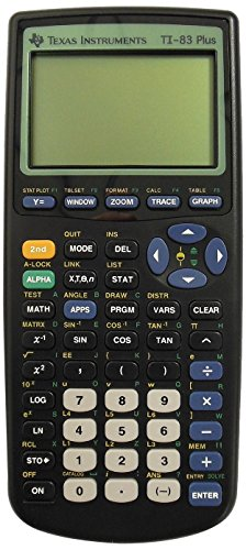 Texas TI-83 Plus Programmable Graphing
