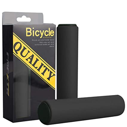 2PCS Bike Racing Bicycle Motorcycle Handle Bar Foam Sponge Grip Cover