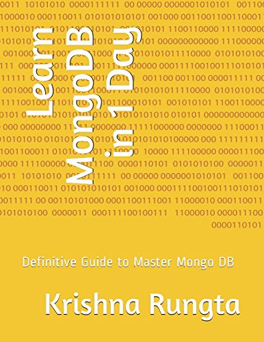 Learn Mongodb In 1 Day  Definitive Guide To Master Mongo Db