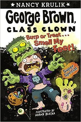 Burp Or Treat... Smell My Feet! (Turtleback School & Library