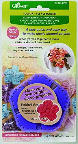 Clover Quick Yo-Yo Maker Flower Small ()