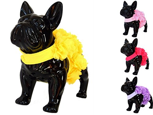 Floral Pink, Purple or Yellow Dog Harness and Leash Set for XSmall and  Small Breeds Very Stylish and Cute (XS, Yellow)
