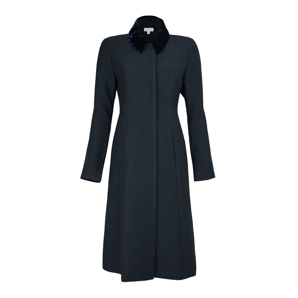 JOJO MAMAN BÉBÉ Navy Maternity Dress Coat