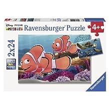 Ravensburger Disney Pixar: Nemo's Adventure (2 x 24-Piece) Puzzles in a Box