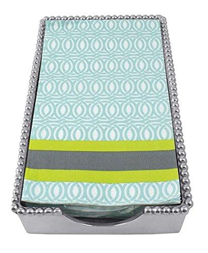Mariposa Lilly Beaded Guest Towel Holder 2239-G by Mariposa   B00T2DJDIQ