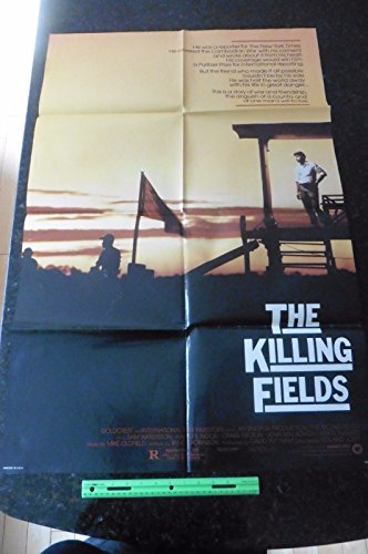 States Poster Stamps - THE KILLING FIELDS - 1984 Original Folded 27x41 One Sheet Movie Poster