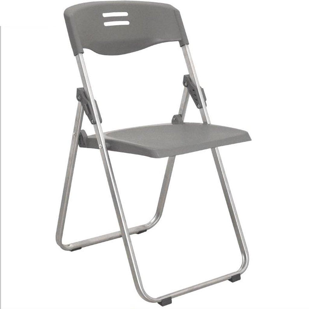 古典 椅子 折りたたみ式オフィスチェアホームコンピュータシンプルな会議室椅子背もたれ訓練寮の椅子を話す (色 : グレー (色 グレー) グレー 椅子 B07DK3LBCG, Okawari:8d28ef47 --- cliente.opweb0005.servidorwebfacil.com