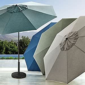Member's Mark Premium 10' Market Umbrella (Shale)