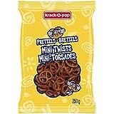 Krack O Pop Crunchy Pretzel Chips - Family Size Crisp Mini Pretzel Twists 250G