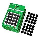 eDealMax 18mm Dia Pieds Meubles Anti-dérapant adhésif Pad feutre Noir de sol protecteur