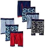 Hanes Big Boys' Red Label Comfort Flex Sport Ringer Boxer Briefs 7 Pack, Assorted, Medium