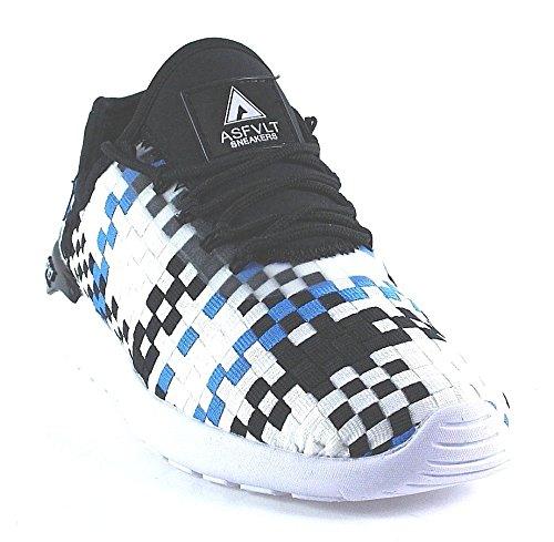 Blue Speed Socks Gr枚脽e Gr枚脽e ASFVLT Speed ASFVLT Black Socks White 41 waqZO6