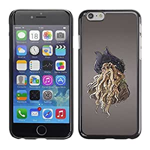 LECELL -- Funda protectora / Cubierta / Piel For Apple iPhone 6 -- Pirate Octopus Monster --