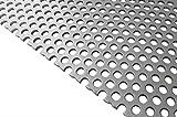 RMP .125'' 3003 H14 Perforated Aluminum Sheet 12'' x 24''
