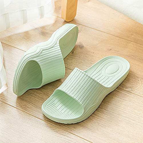 Pantofole Ciabattine Qsy Indossano Da Morbide Comodi Estivi Sandali Chiaro Bagno Verde Shoe E 16w1TAv