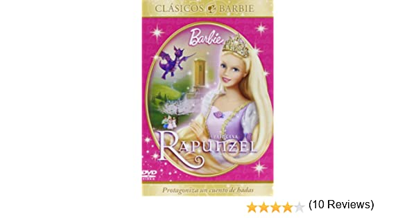 Barbie en princesa Rapunzel [DVD]: Amazon.es: Owen Hurley: Cine y ...