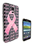 c0989 – Beautiful Breast Cancer Pink Bow Hope Faith Love Design Samsung Galaxy Note 4 Fashion Trend CASE Gel Rubber Silicone All Edges Protection Case Cover