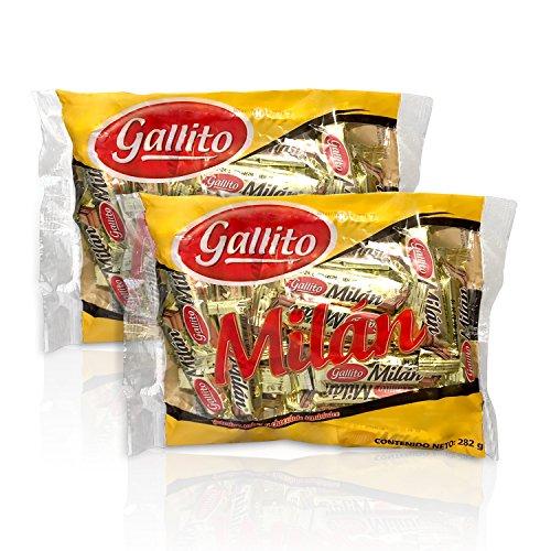 Gallito Milan Chocolates, 2 Bags of 10 Ounces