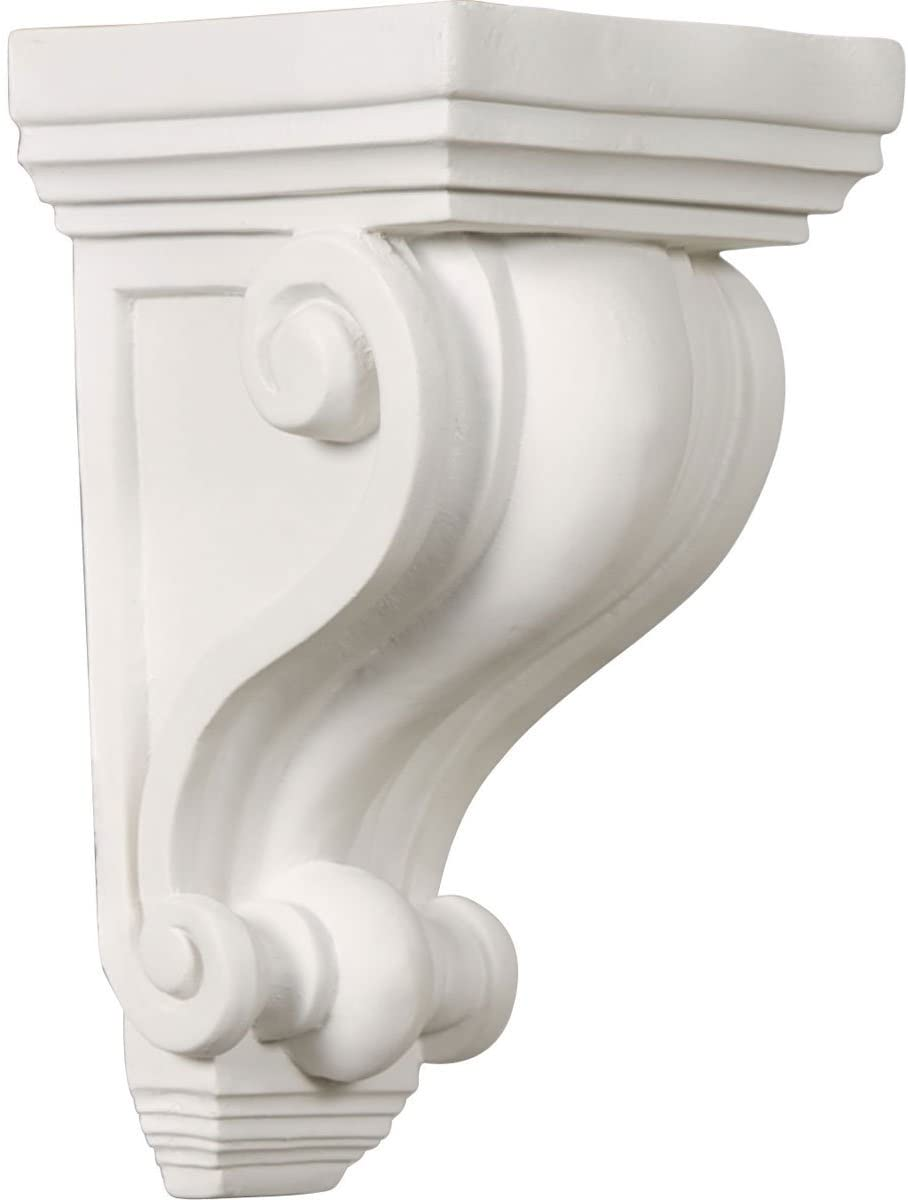 Ekena Millwork COR07X04X12ME-CASE-6 Corbel Factory Primed and Ready for Paint