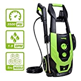 PowRyte Elite 2300 PSI 1.90 GPM Electric Pressure Washer, Portable Power Washer