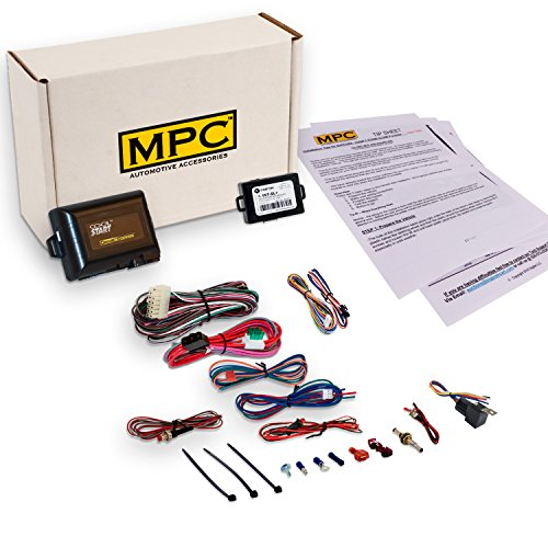 MPC Add On Remote Start Kit for Select 1998-2007 Cadillac - Uses Your Factory Fobs to Start. Complete Kit ()