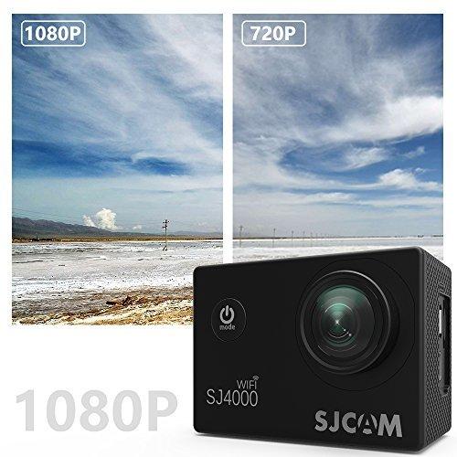Action Camera SJCAM SJ4000 WIFI FHD1080P waterproof Underwater Camera 12MP Sports Camcorder 2.0 LCD Screen Display -Black by SJCAM (Image #3)