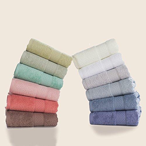 Badetuch Handtücher aus Baumwolle, minimalistischen Stil 70 * 140 cm, Violett