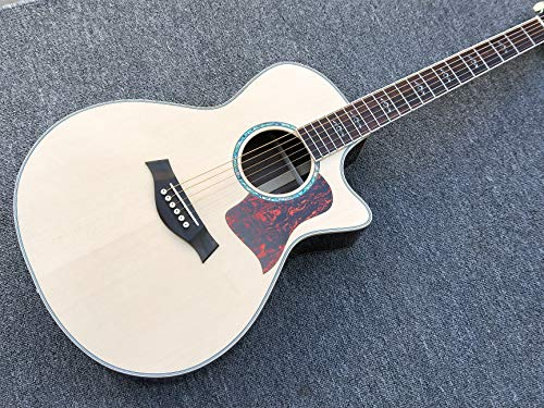 New arrival AAA Solid spruce Top 814 acoustic guitar,Factory custom handmade Rosewood back acoustic guitar