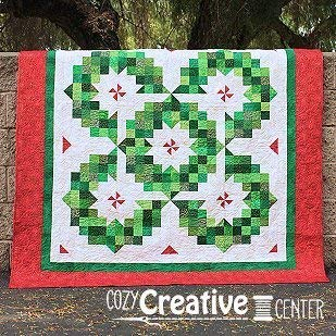 Pattern, Ring of Wreaths by Cozy Quilt Designs, 2 1/2