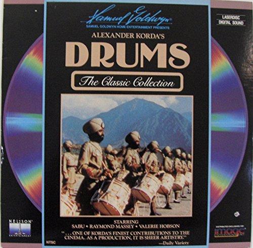 DRUMS LASER DISC (Alexander Korda)