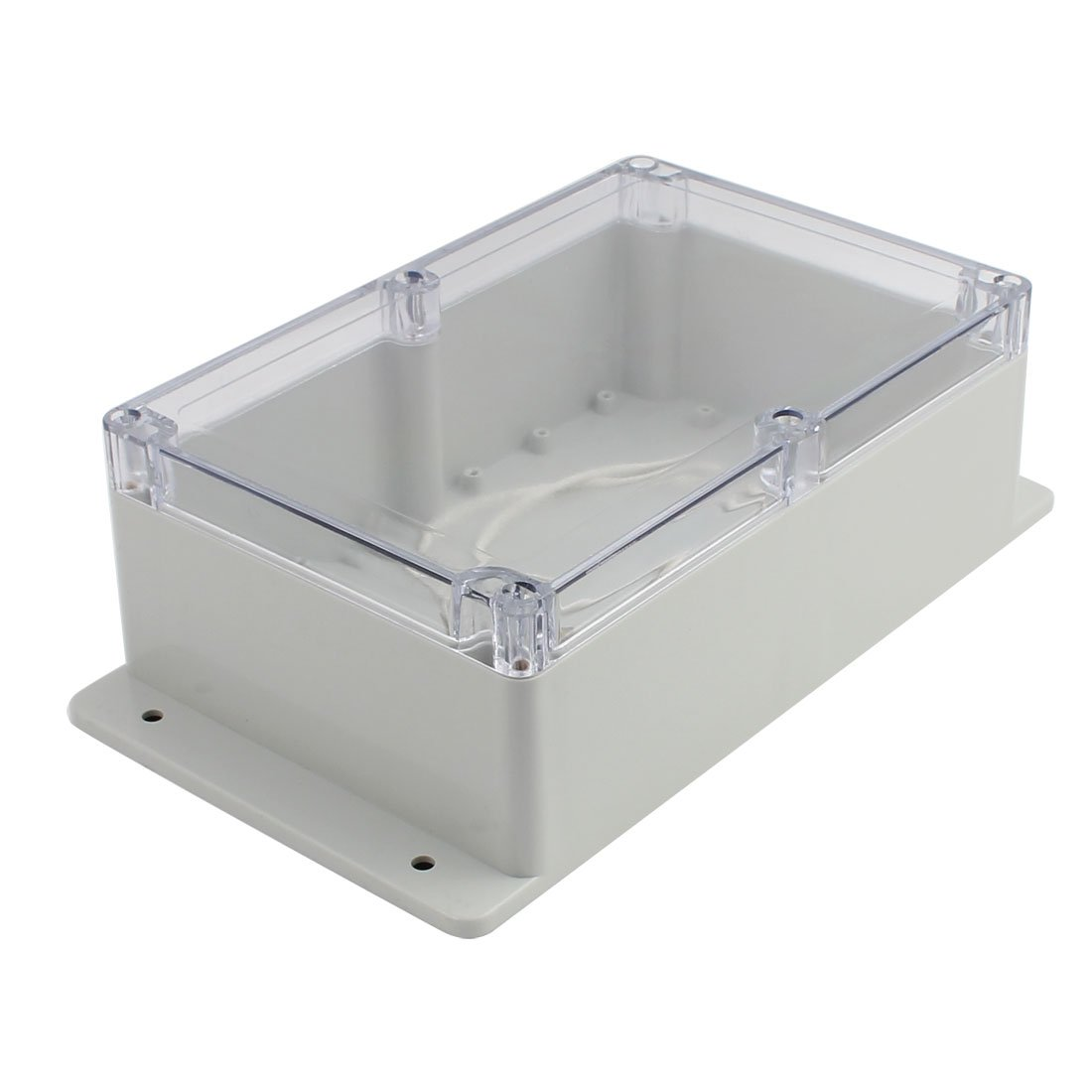 Aexit 230x150x87mm Clear Cover Waterproof Junction Electronic Project Box Enclosure