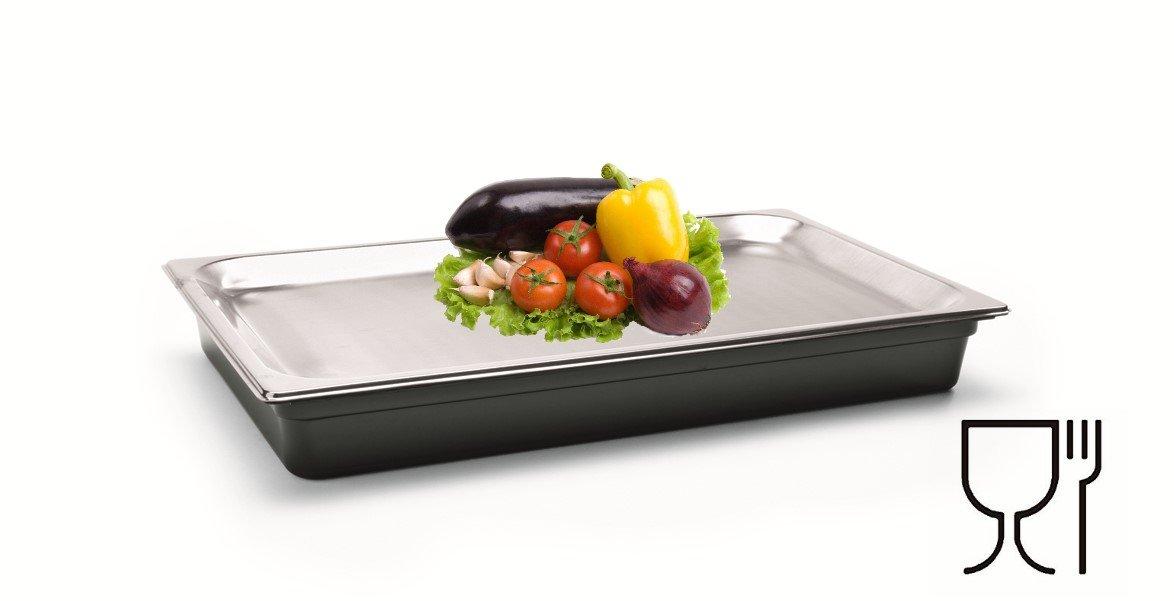 Kühlschale Kühlsystem Kühltablett Schale zum Kühlen mit 2 Akkus Speisekühler