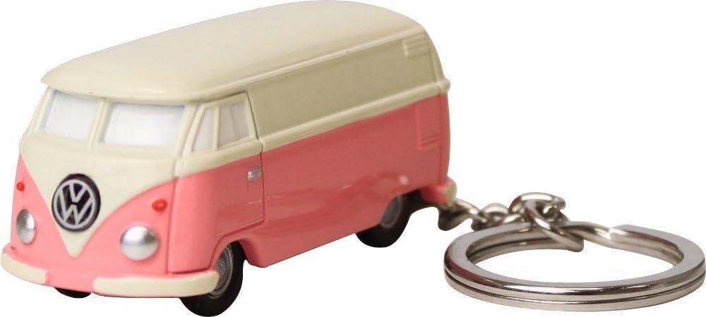 Volkswagen Bus Light Keychain Red