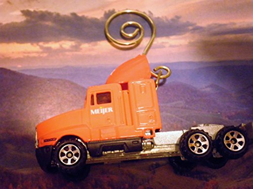 mack-ch-600-semi-truck-meijer-foods-christmas-holiday-rear-view-mirror-ornament-with-hanger