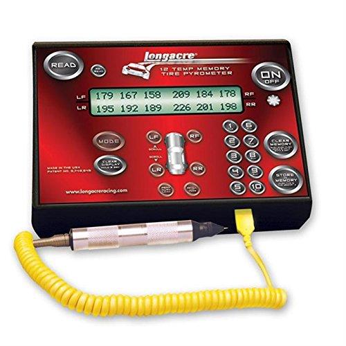 Longacre 50690 AccuTech Deluxe Memory Probe Pyrometer 300° °F w/Silver Case