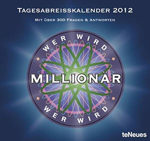Wer wird Millionär 2012 Tagesabreißkalender