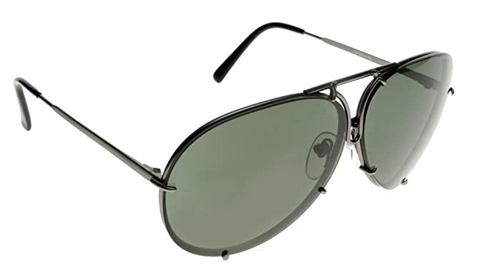 186c223574e Image Unavailable. Image not available for. Color  Porsche Design Titanium Sunglasses  P8478 ...