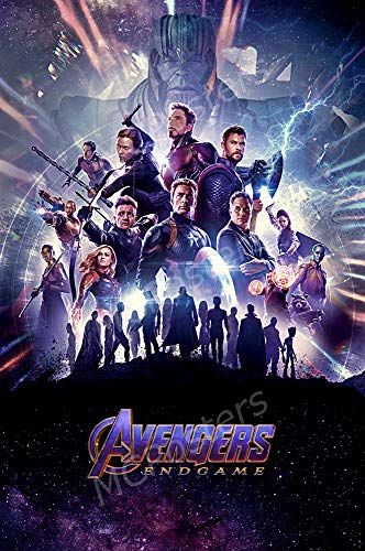 MCPosters - Marvel Avengers Endgame Glossy Finish Movie Poster Certified Print by PosterTodayUSA - CIN026 (24