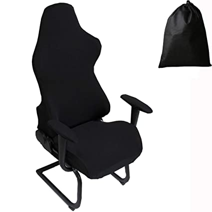 Amazon Com Ljngg Office Computer Game Chair Cover Armchair Elastic