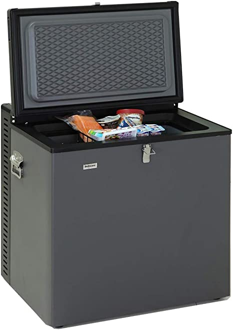 SMETA Electric LPG AC/DC Propano Gas Absorción Congelador RV, 2.4 ...