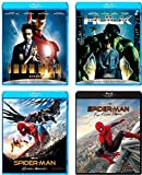 【Amazon.co.jp限定】SONY PICTURES MARVEL CINEMATIC UNIVERSE 4本セット (スパイダーマン:ファー・フロム・ホーム ラゲッジステッカー2種セット&トラベルカードホルダー付き) [Blu-ray]