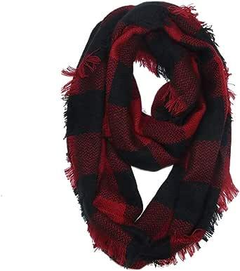 TTOOHHH Women Fashion Winter Faux Fur Scarf Pure Color Outerwear Scarf Warm Scarves Blanket Wrap