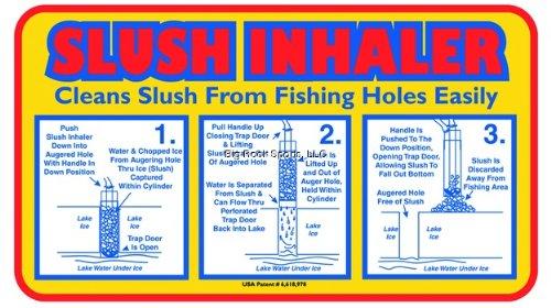 Slush Inhaler, 9''