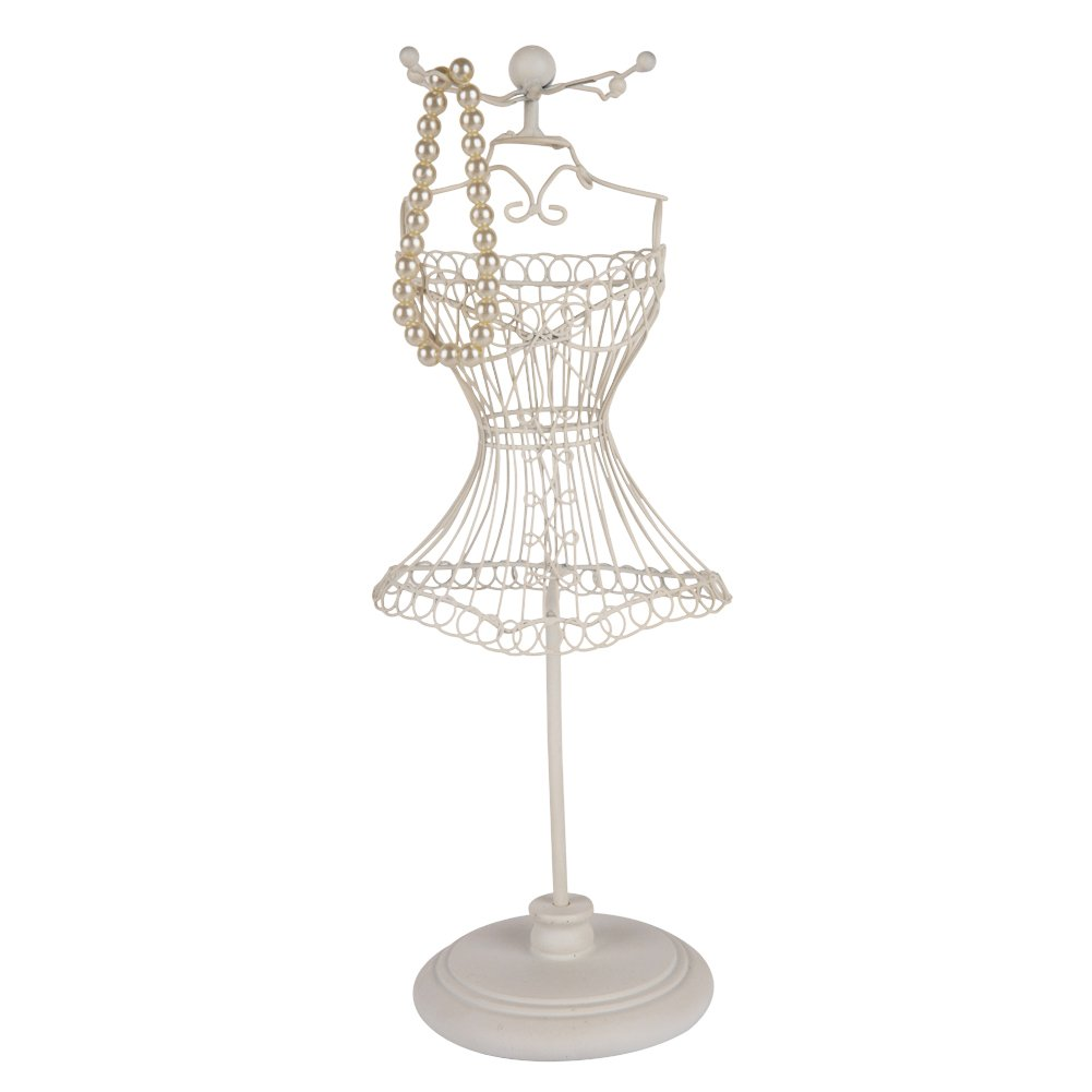 Wire Mannequin Bust Jewelry Stand - DATA WIRING •