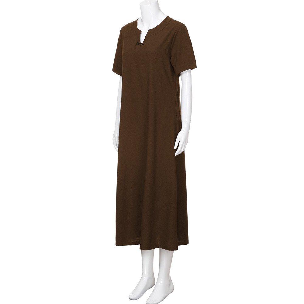 f1ecca6afe2f Lolittas Summer Maxi Cotton Linen Dresses for Women
