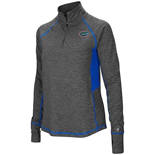 - Colosseum Florida Gators Women's NCAA Sabre 1/4 Zip Pullover Sweatshirt