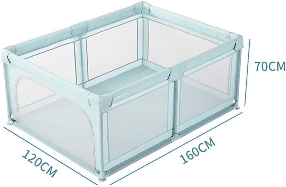 Box Portatile for Neonati//Bambini Piccoli Verde Size : 120 /× 120cm Box per Bambini Parco Giochi for Bambini Sicurezza Centro di attivit/à di Sicurezza for Bambini con 50 Palline